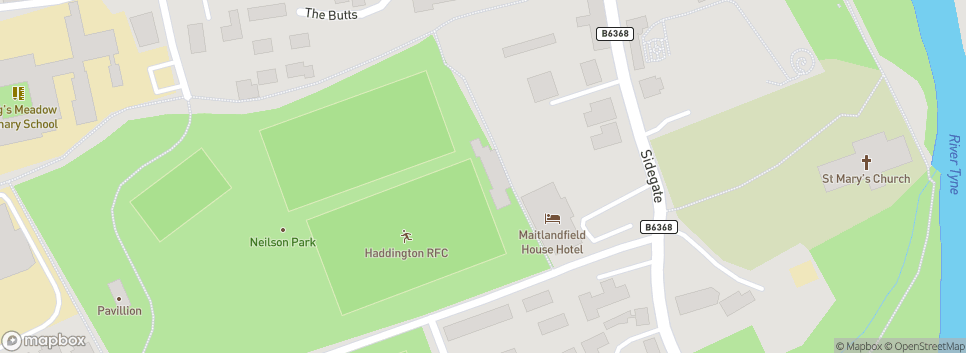 Haddington Rugby Football Club Neilson Park