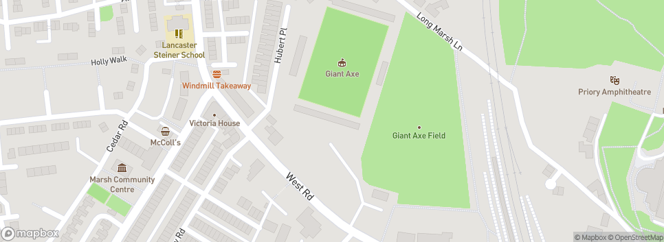 Lancaster City FC Giant Axe