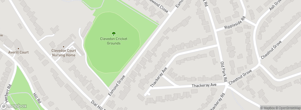 Clevedon CC Esmond Grove
