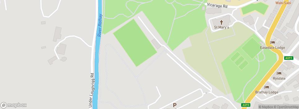 Ambleside Utd hillard park