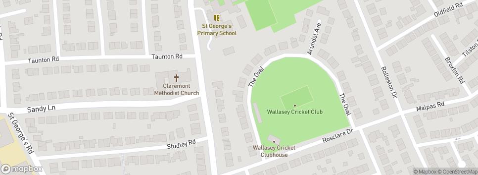 Wallasey Cricket Club The Oval