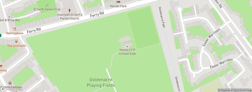 Heriot's Cricket Club Old Pavilion