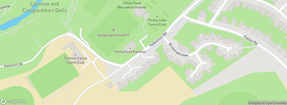 Edinburgh Utd Vale 59 Katesmill Road