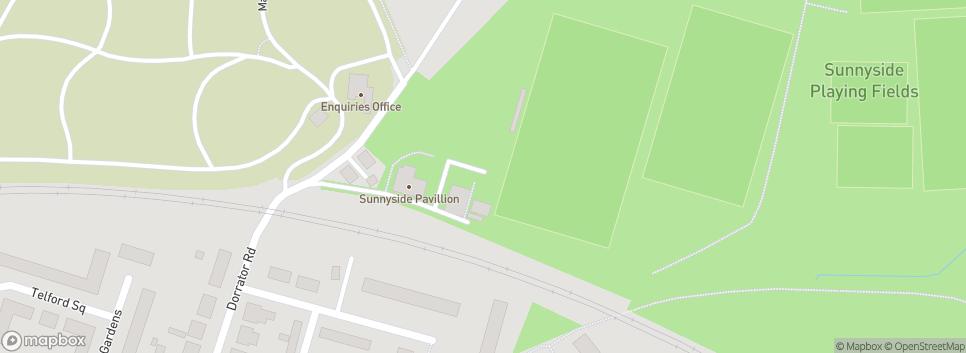 Falkirk Rugby Horne Park, Sunnyside
