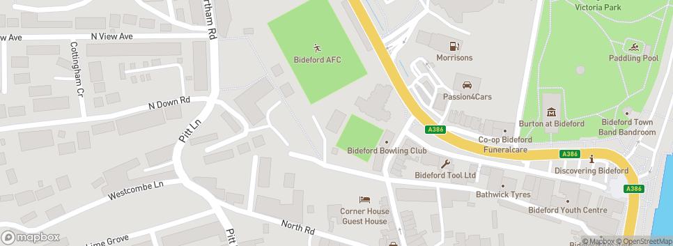Bideford AFC The Sports Ground