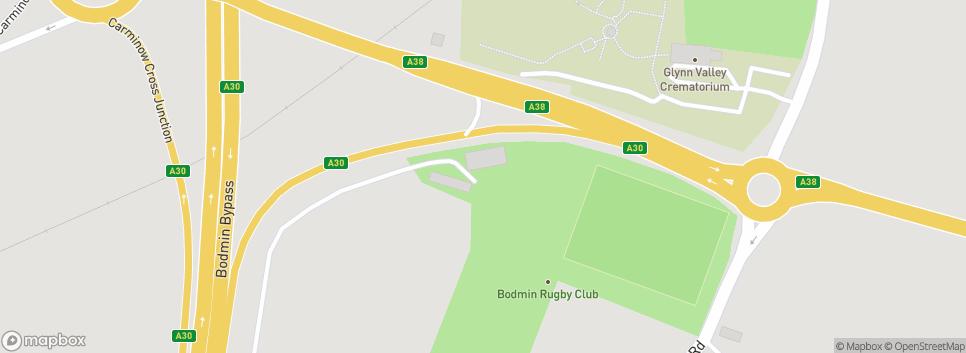 Bodmin RFC Clifden Park