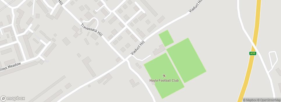 Hayle AFC Trevassack Park