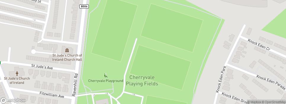 Belfast Redbacks ARFC Cherryvale Playing Fields