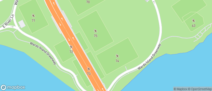 Randall's Island fields 74 & 75