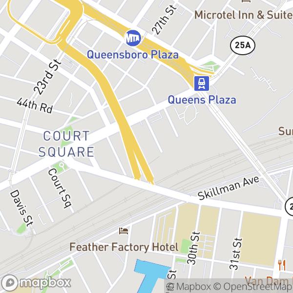 43-22 Queens St #910 Map