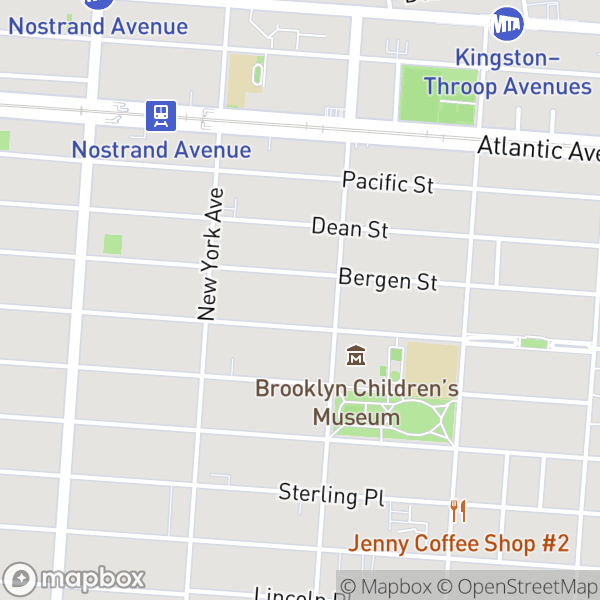 805 St Marks Ave #B1F Map