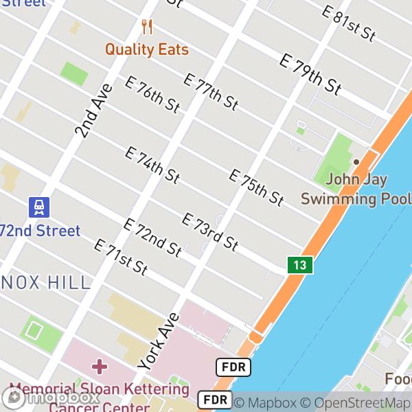 490 E 74 St #7D Map
