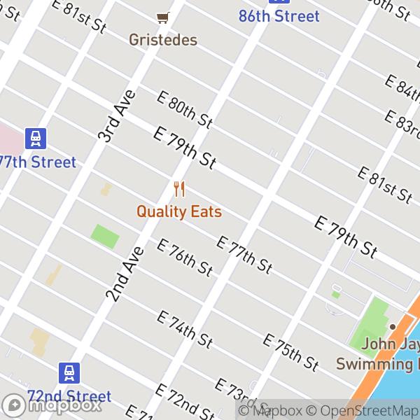 328 E 78 St #5 Map