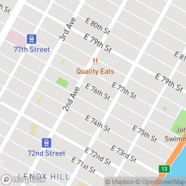 342 E 76 St #3D Map