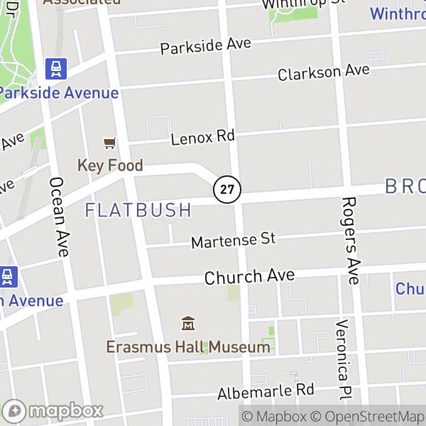 58 Linden Blvd #4G Map