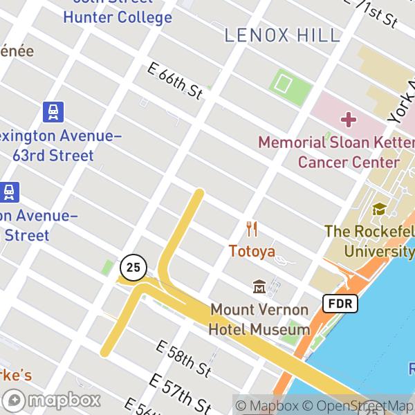 330 E 63 St #4L Map