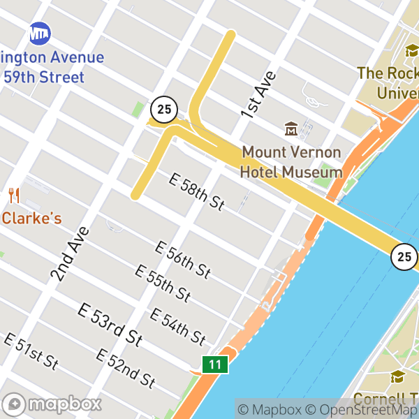 400 E 58 St #2H Map