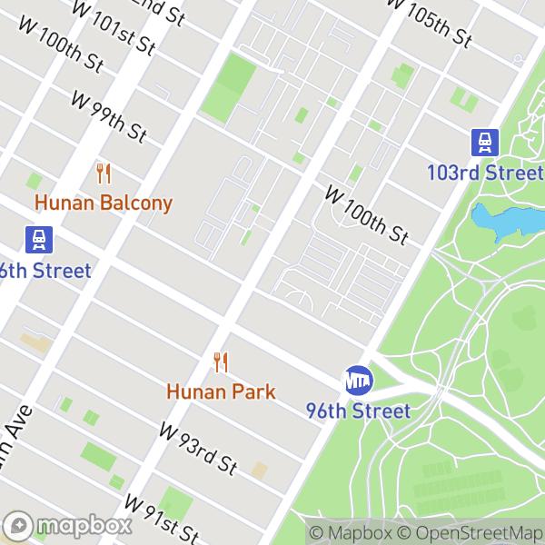 775 Columbus Ave #8D Map