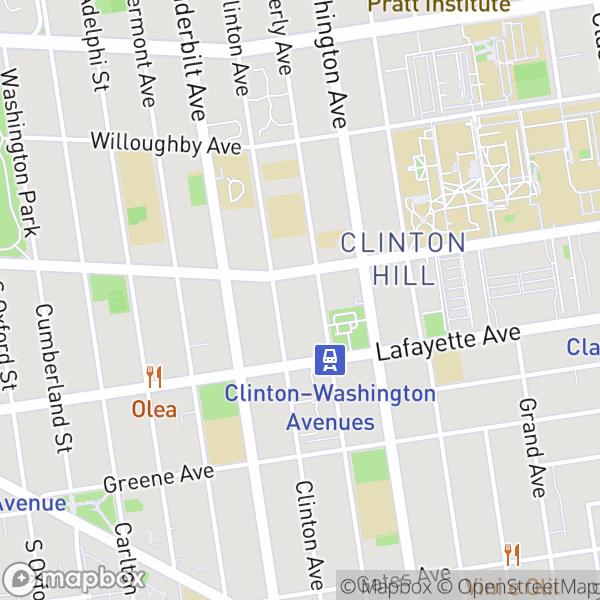 295 Clinton Ave #509 Map