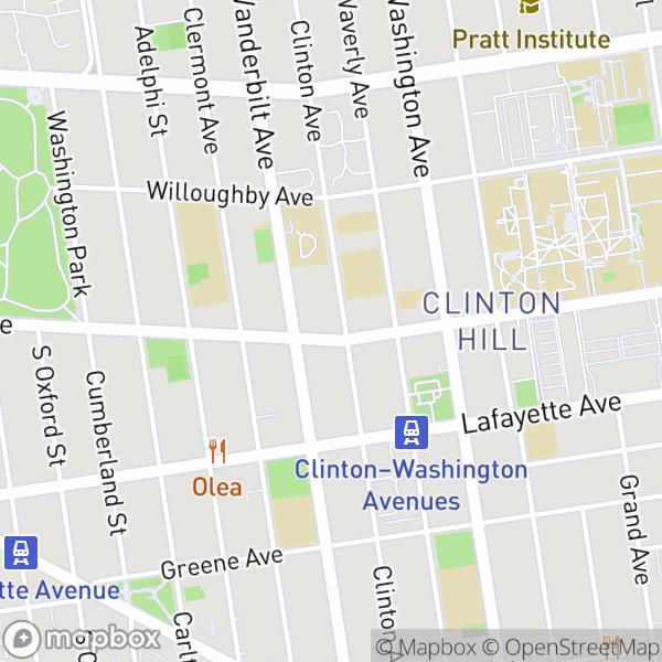 290 Clinton Ave #1C Map