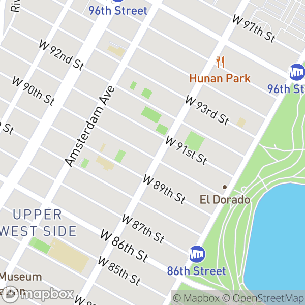 101 W 90 St #8A Map