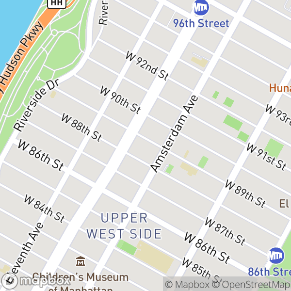 210 W 89 St #11C Map