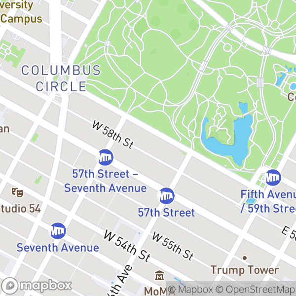 145 W 58 St #11H Map
