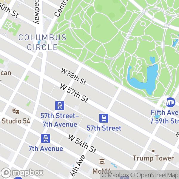 150 W 58 St #5B Map