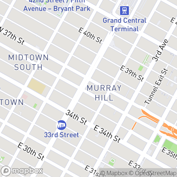41 Park Ave #8G Map