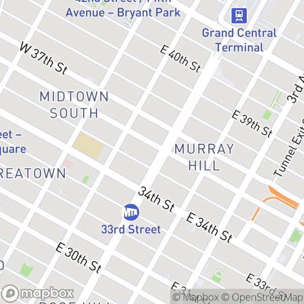 30 Park Ave #8O Map