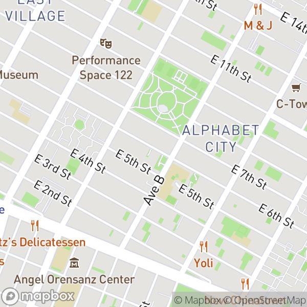 534 E 6 St #2 Map