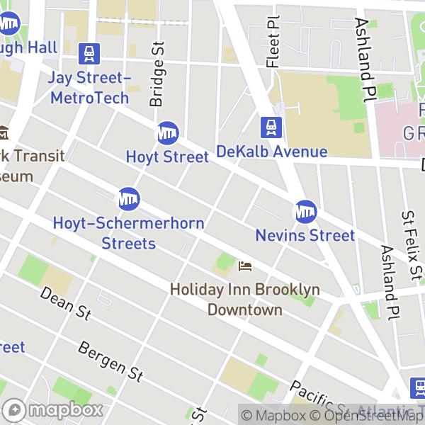 33 Bond St #1122 Map