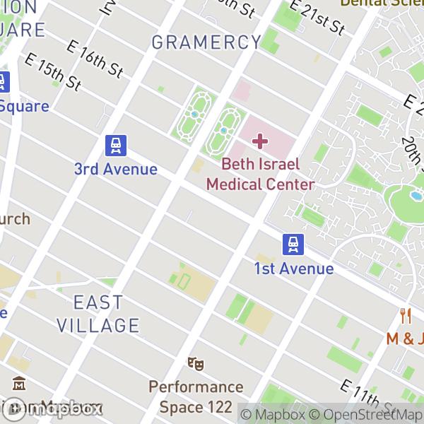 328 E 14 St #34 Map