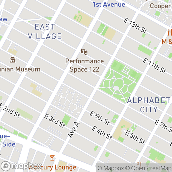 122 E 7 St #3WR Map
