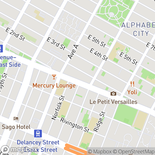 250 East Houston St #9C Map