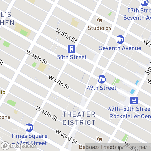 235 W 48 St #40D Map