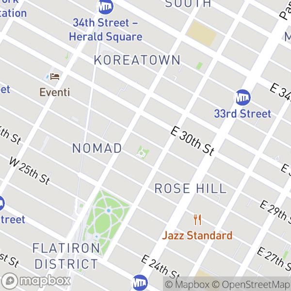 10 E 29 St #37D Map