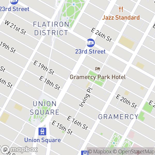 8 Gramercy Park S #6E Map