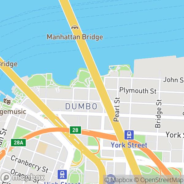 25 Washington St #6F Map