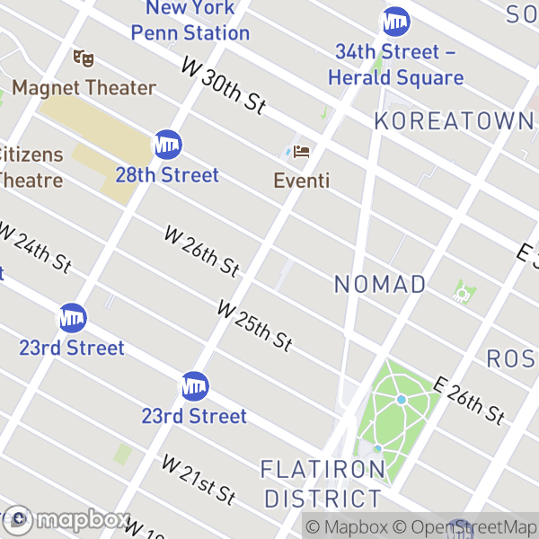 776 6 Ave #22J Map