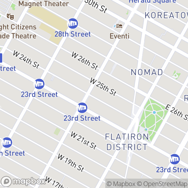 77 W 24 St #22D Map
