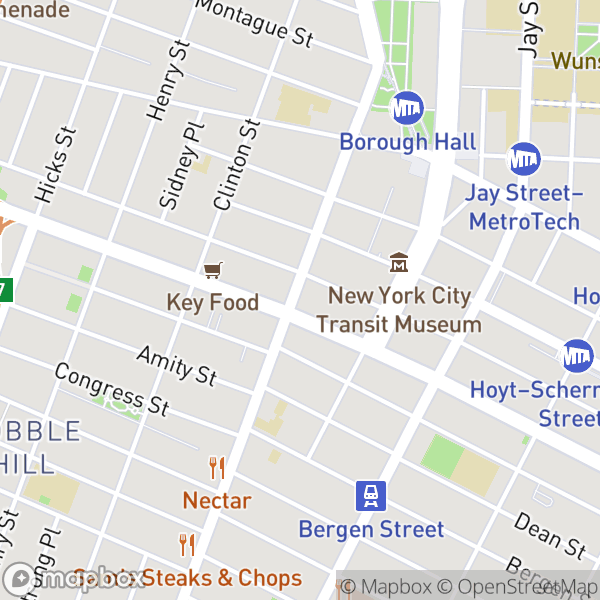 125 Ct St #5NS Map