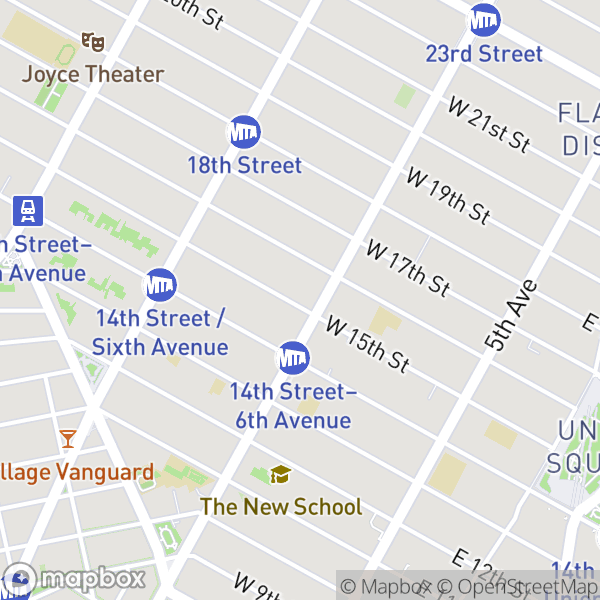 101 W 15 St #303 Map