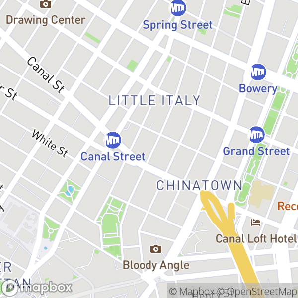 115 Mulberry St #1F Map