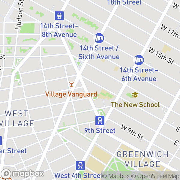 50 Greenwich Ave #2D Map