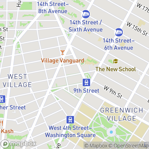 141 W 10 St #1 Map