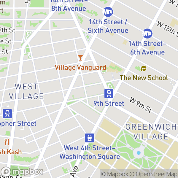148 W 10 St #4D Map