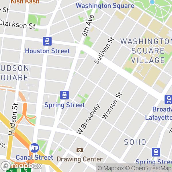 119 Sullivan St #6 Map