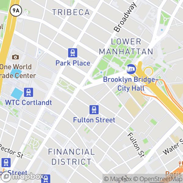 15 Park Row #21J Map