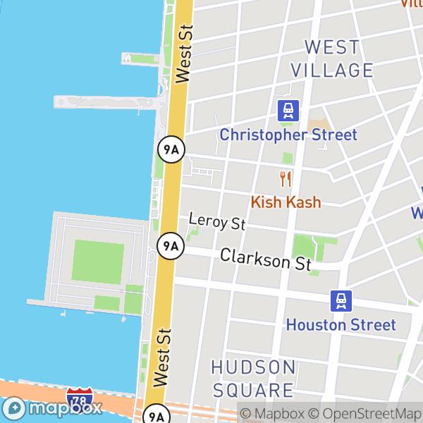 600 Washington St #402 Map